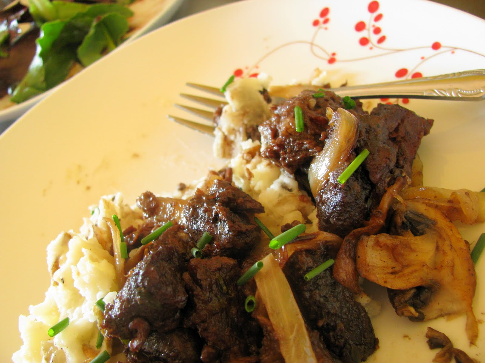 Beef Bourgignon.