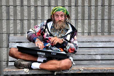 Street Musician, Pismo Beach