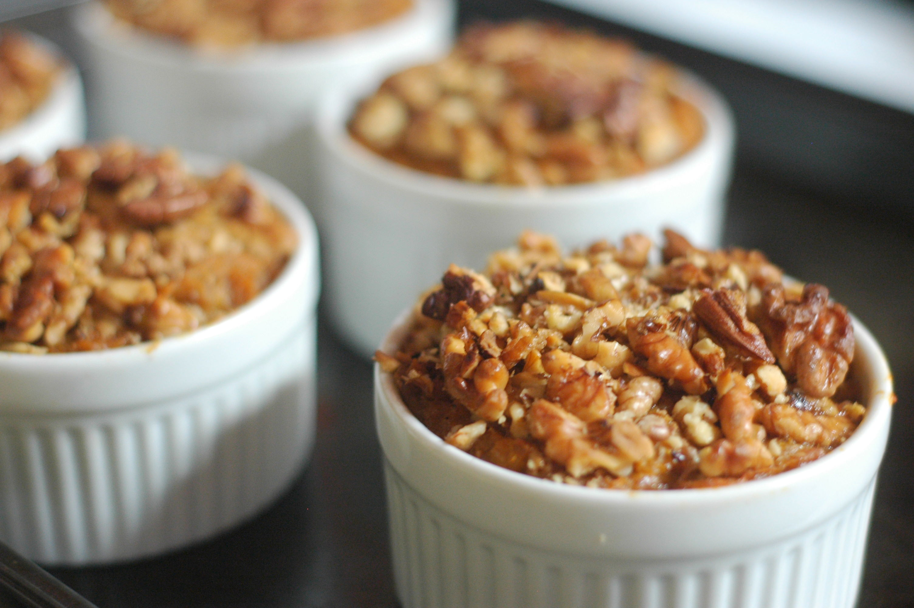 Spiced Sweet Potato Souffles with Roasted Walnuts - The Elliott ...