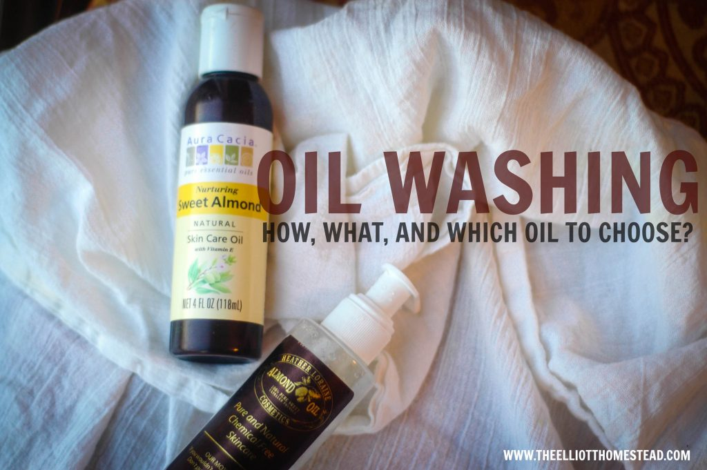 Oil-Washing: How, What, And Which One
