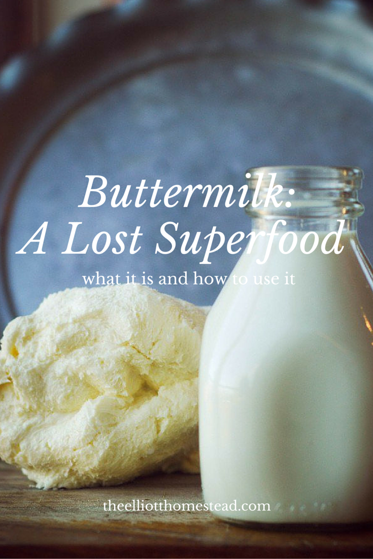 Buttermilk, a lost superfood (what it is and how to use it)