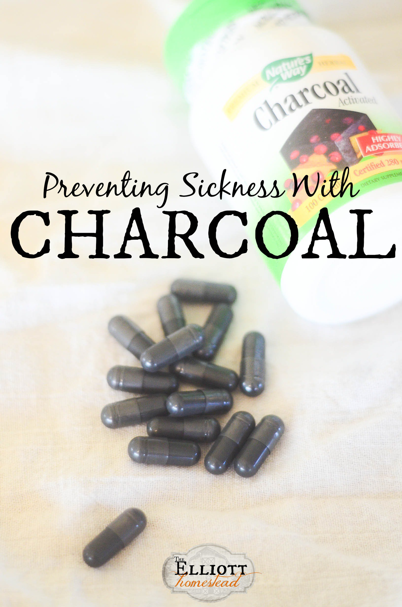 Preventing Sickness with Activated Charcoal