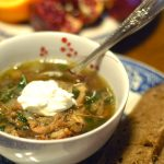 Pork, Lentil, and Kale Soup