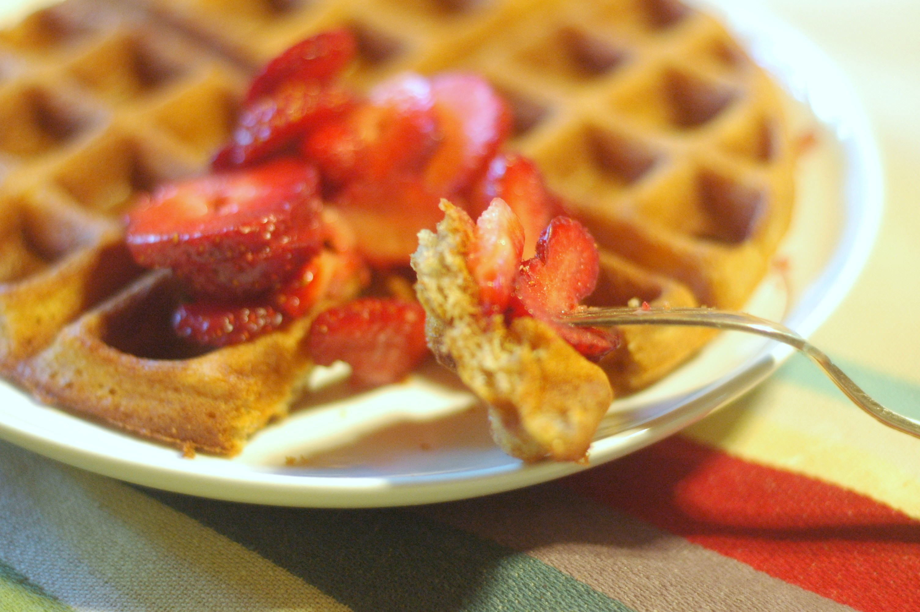 Sourdough Waffles - The Elliott Homestead