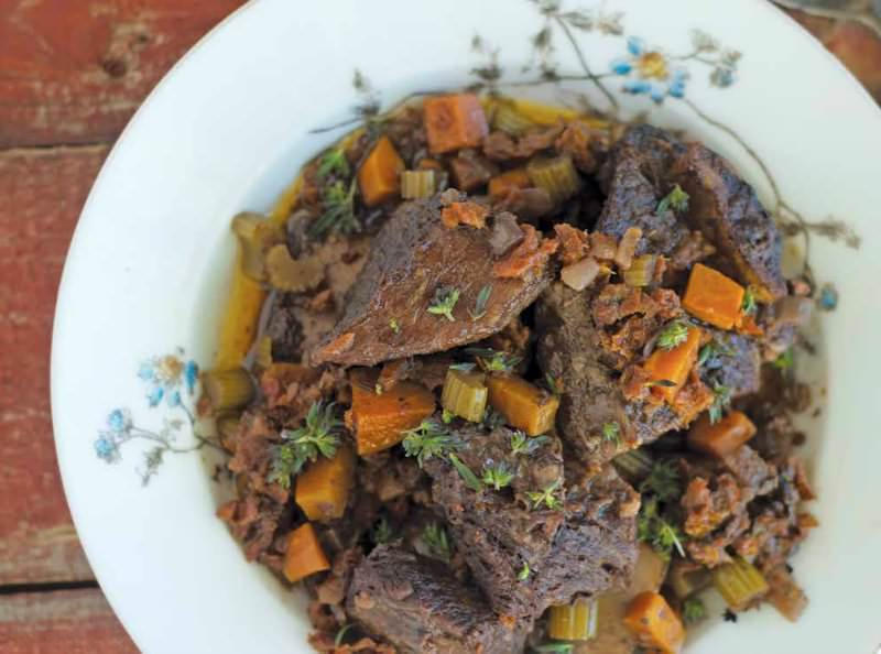 braised short ribs with sun dried tomatoes and herbs - Nourished Kitchen