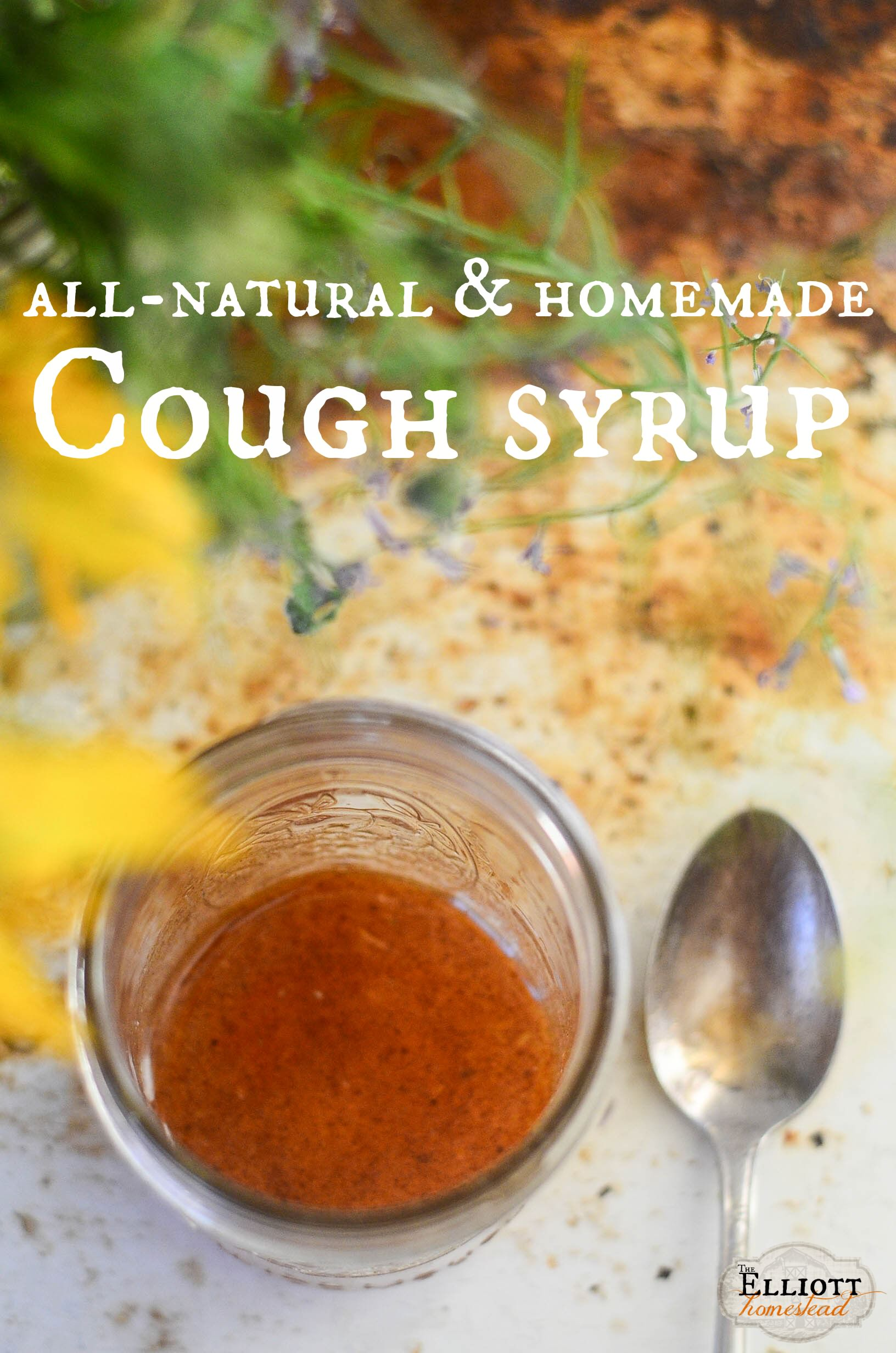 Homemade Cough Syrup Recipe - The