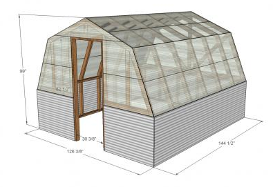 3D blueprint for greenhouse