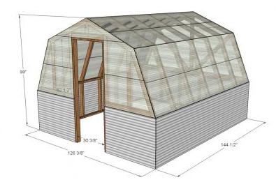 3D blueprint for greenhouse