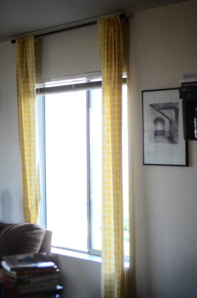 Full length no-sew curtain panels   The Elliott Homestead (.com)