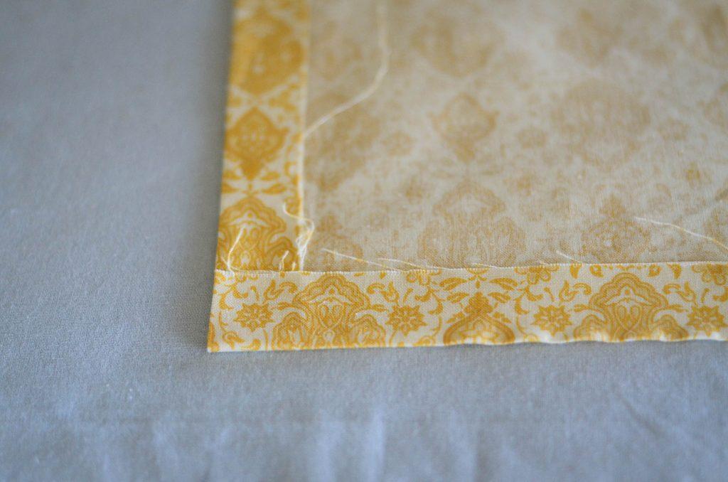 Folding the bottom up for corners   The Elliott Homestead (.com)
