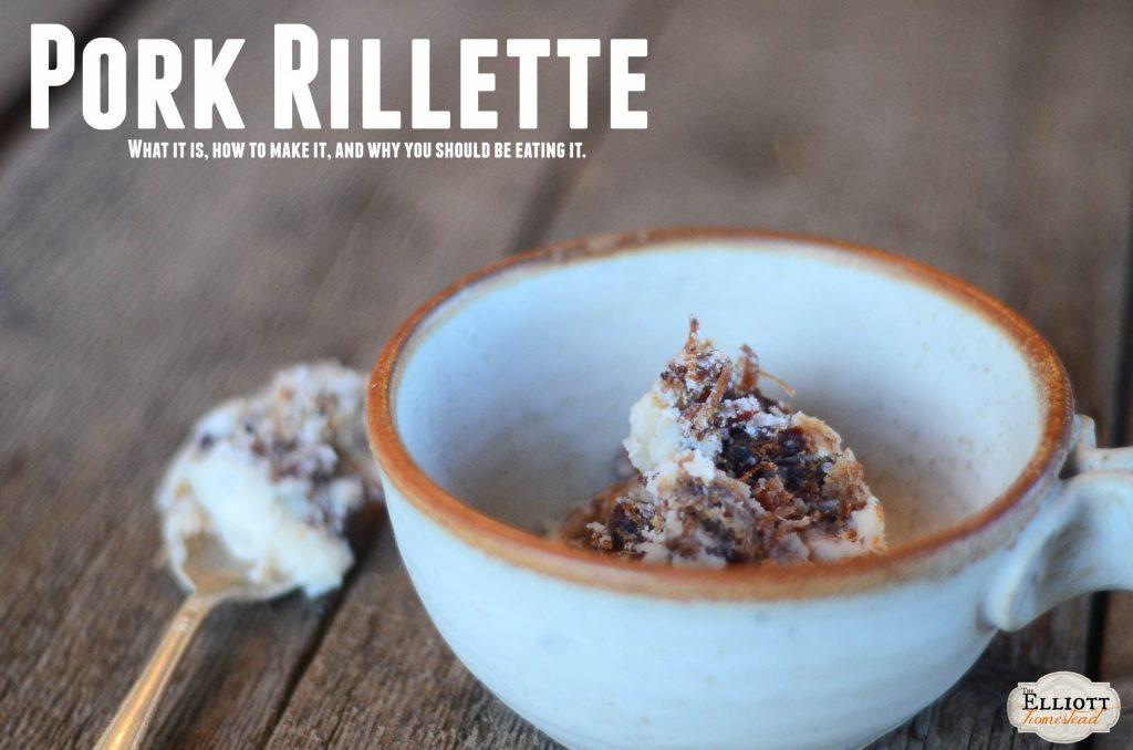 Pork Rillette (a great way to preserve pork!) | The Elliott Homestead (.com)