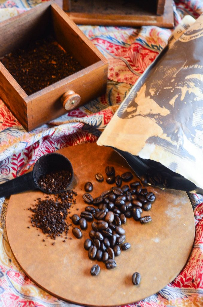 The best way to start any morning: home roasted coffee.