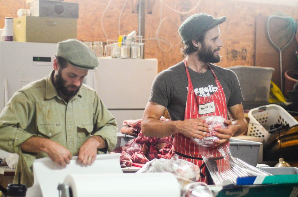 Butchering a Pig: Wrapping up the meat bound for the freezer | The Elliott Homestead