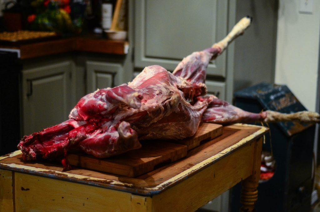 Step 8. Age the lamb | The Elliott Homestead