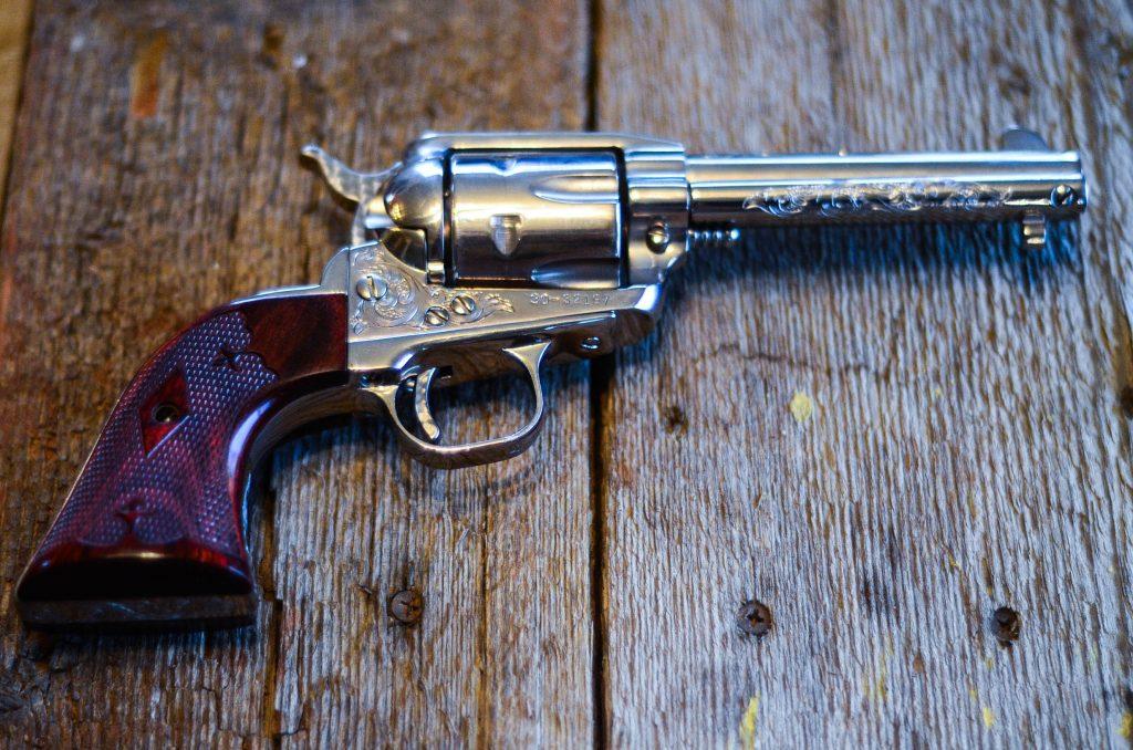 .357 revolver used to kill the lamb | The Elliott Homestead