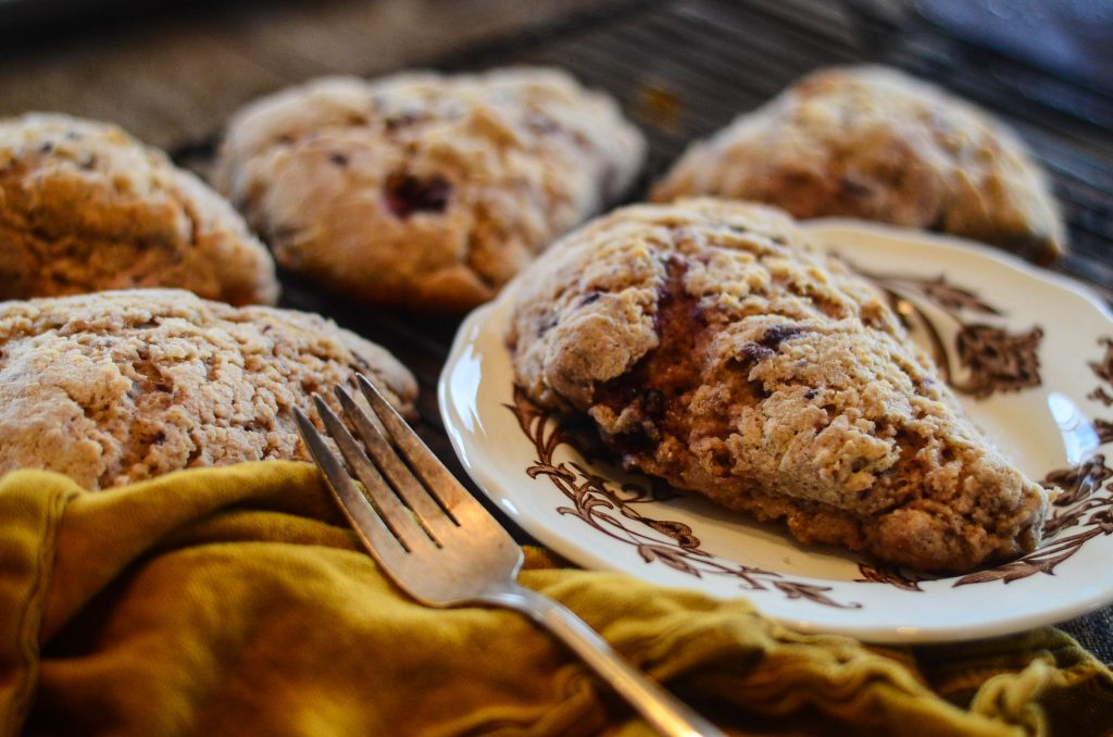Sprouted Spelt Scones (naturally sweetened!) | The Elliott Homestead