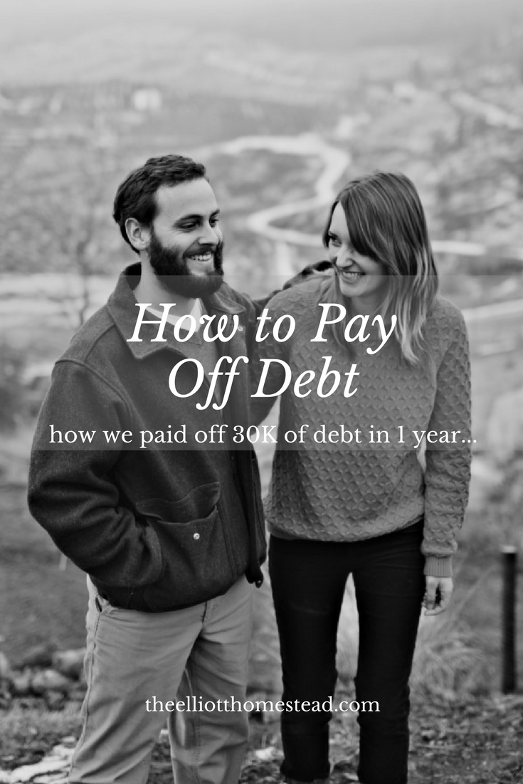 Paying off debt... | The Elliott Homestead