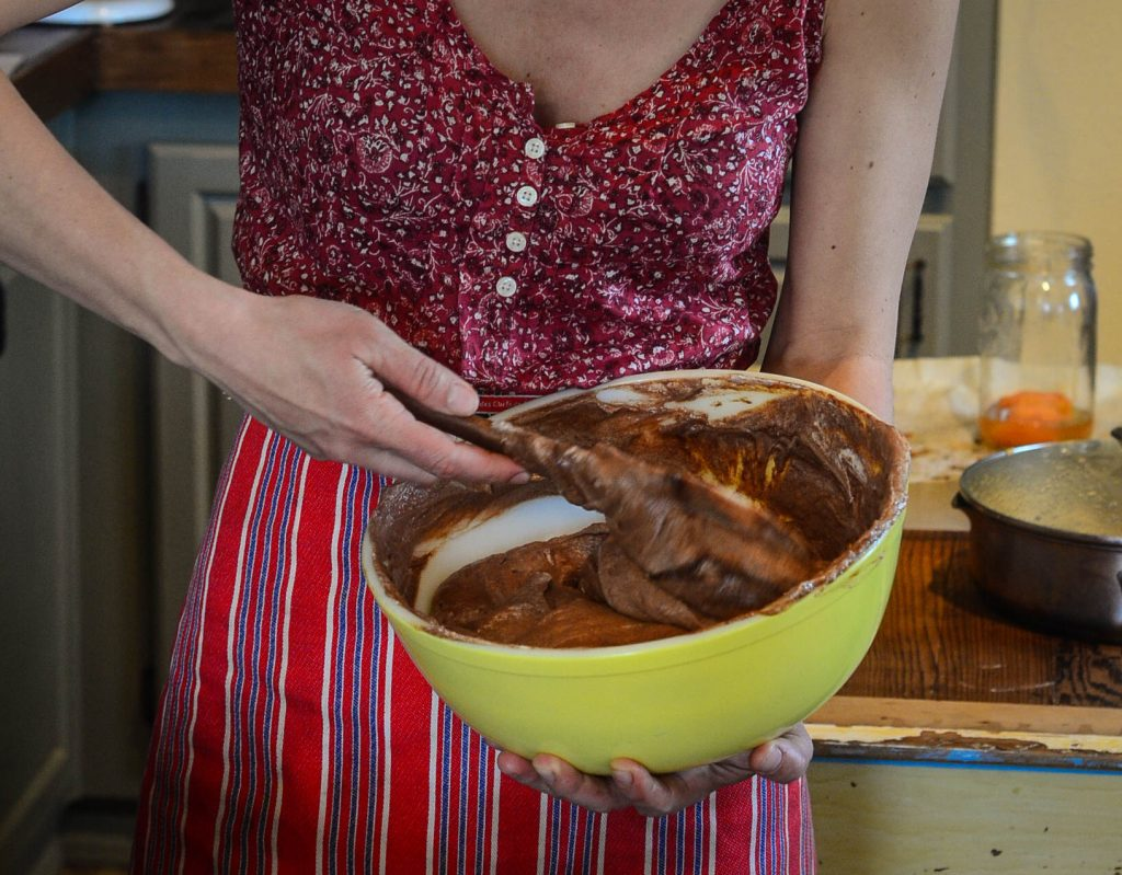 Fold the mousse | The Elliott Homestead