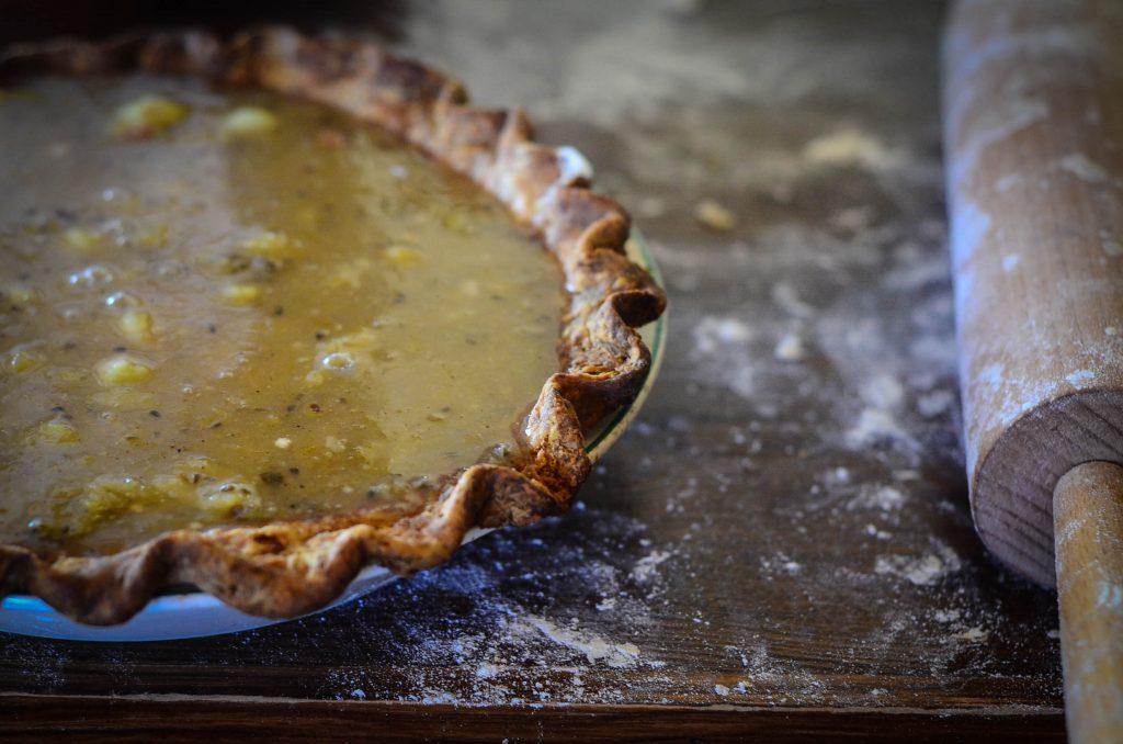 Pie...pre-baking!