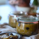 Rhubarb Chutney With Honey