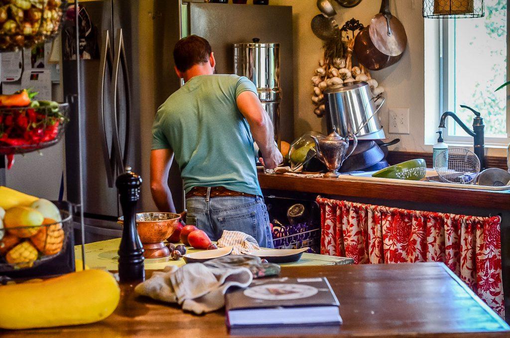 My kitchen helper   The Elliott Homestead