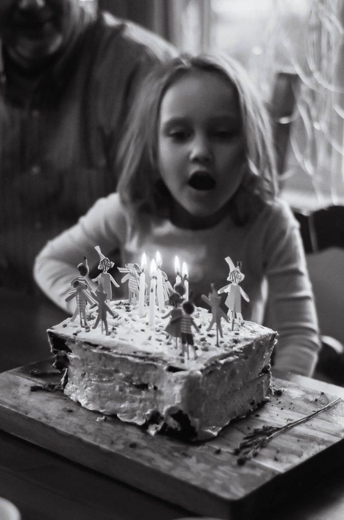 Georgia's 5th birthday! | The Elliott Homestead