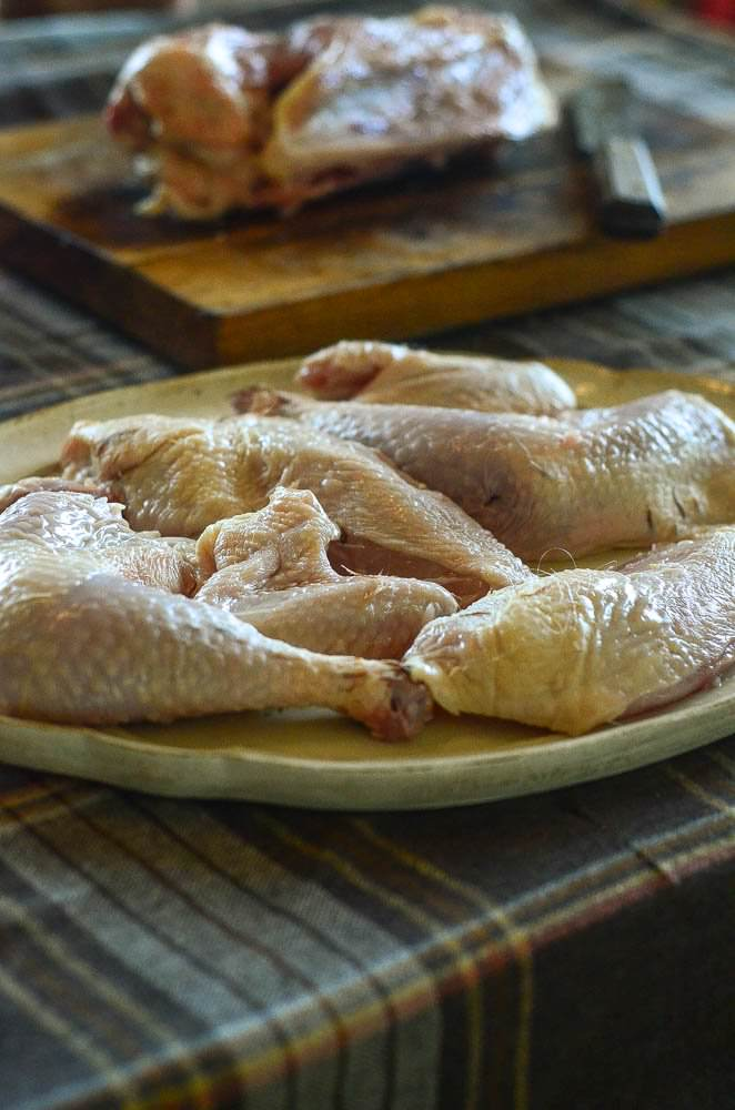Easy cut up a whole chicken to save money! | The Elliott Homestead