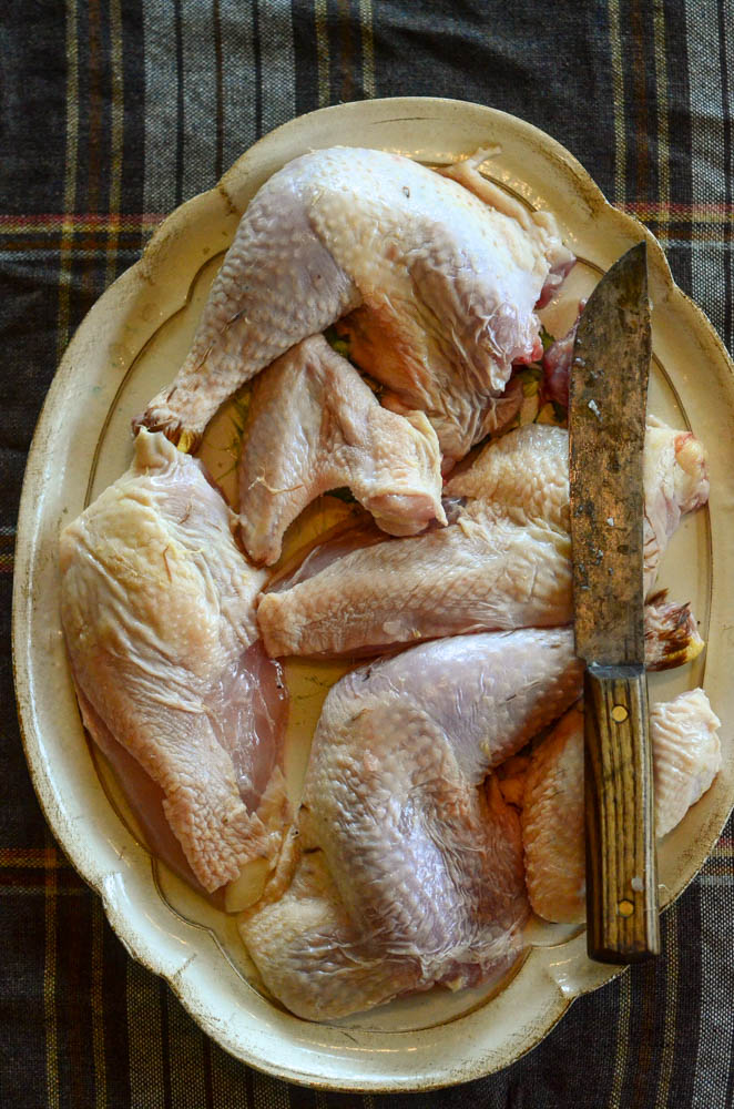 How To Cut Up A Whole Chicken | The Elliott Homestead