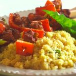 Farm Raised Pork Kebobs W: Citrus Quinoa