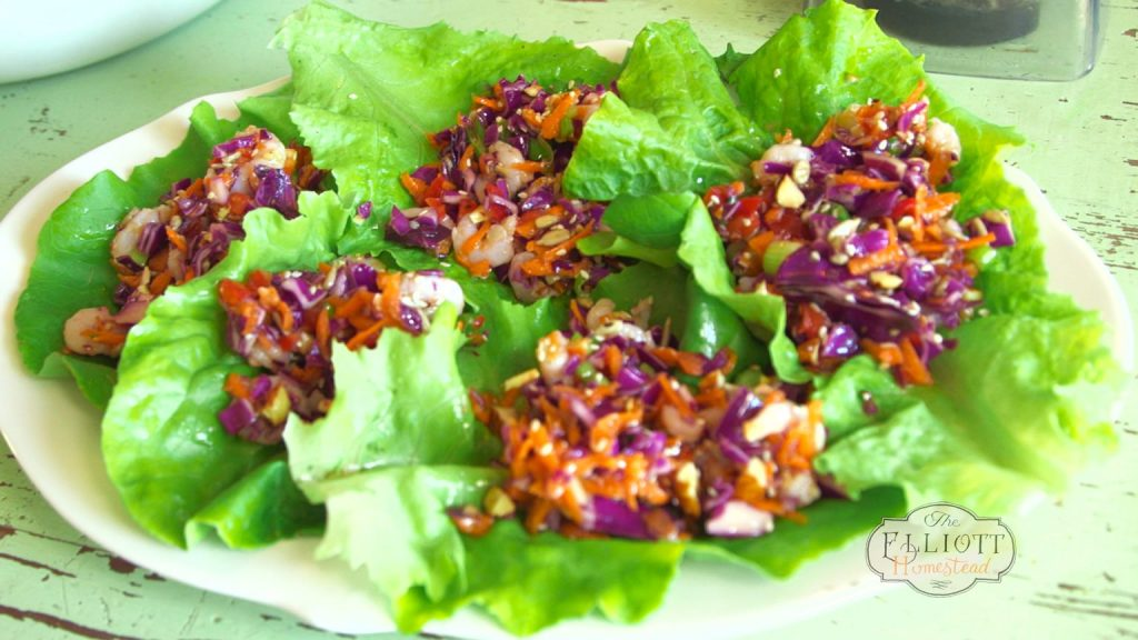 Fresh Lettuce Wraps