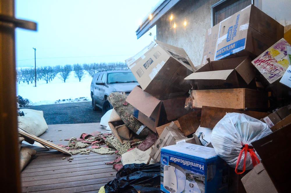 So much trash.