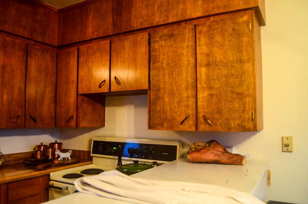 Bye bye, kitchen cabinets.