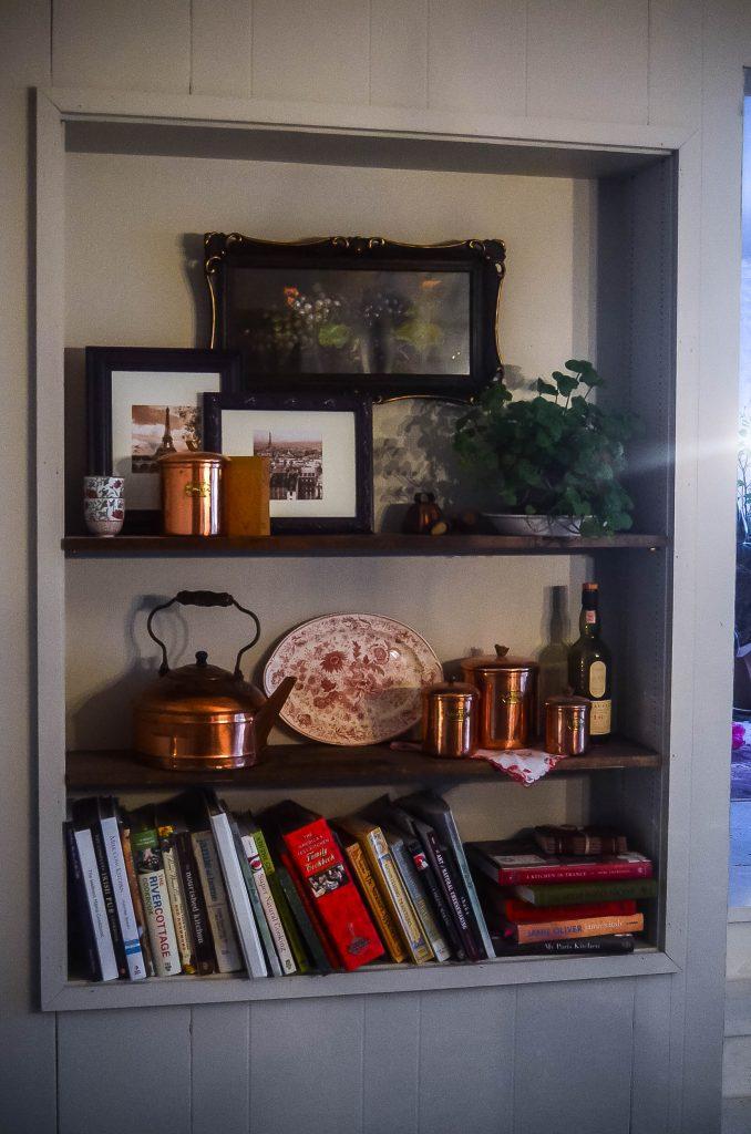 Dining room built in | The Elliott Homestead