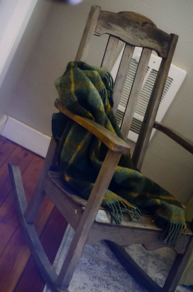 Vintage Nursery: Rocking chair from Granddad | The Elliott Homestead