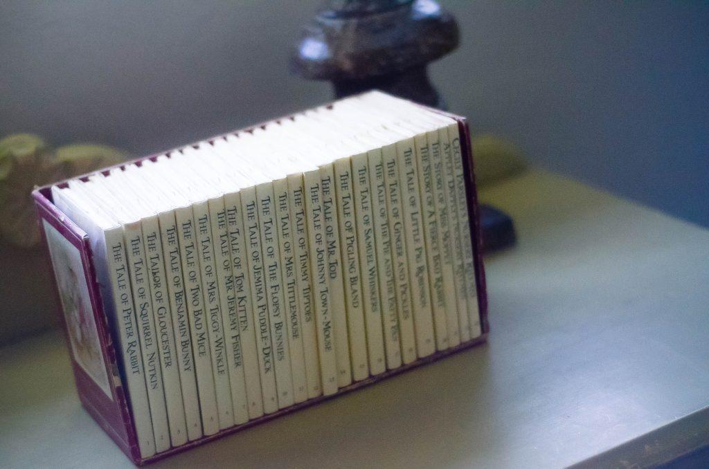 Vintage Nursery: Reading Material | The Elliott Homestead