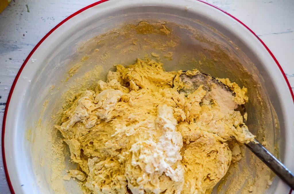 Smooth, squishy farl dough...