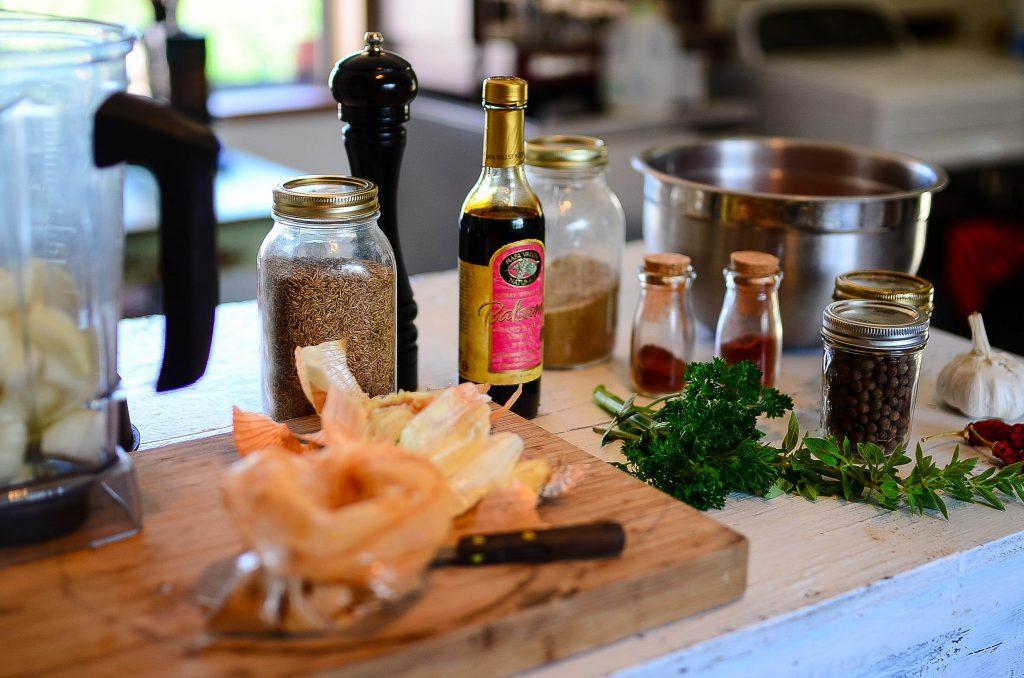 Chorizo ingredients