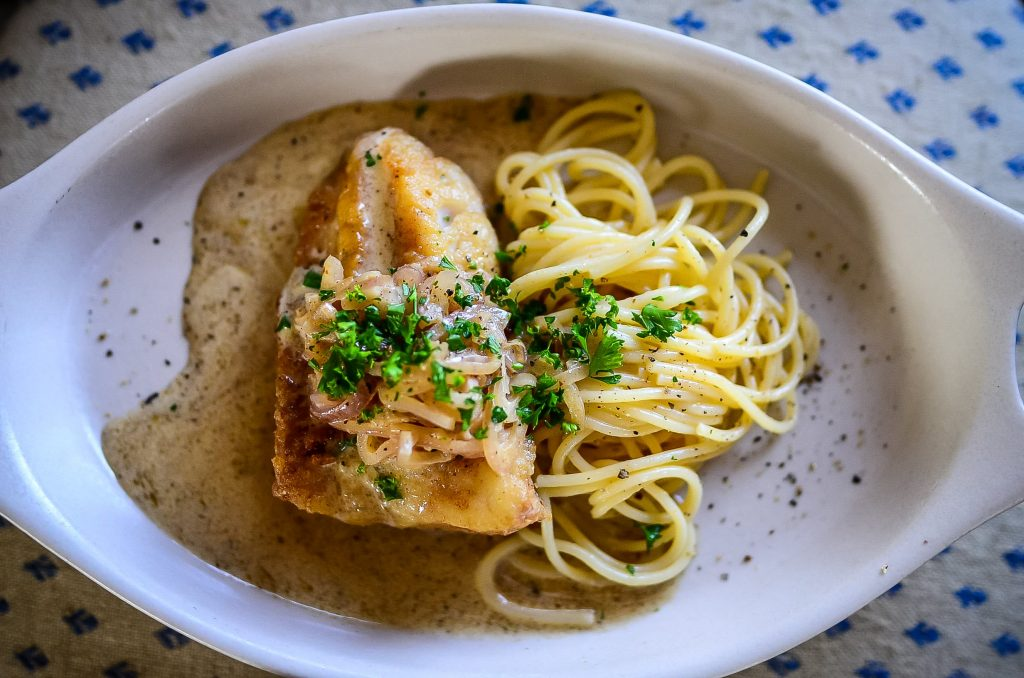Cod With Shallots And Cream Sauce | The Elliott Homestead (.com)
