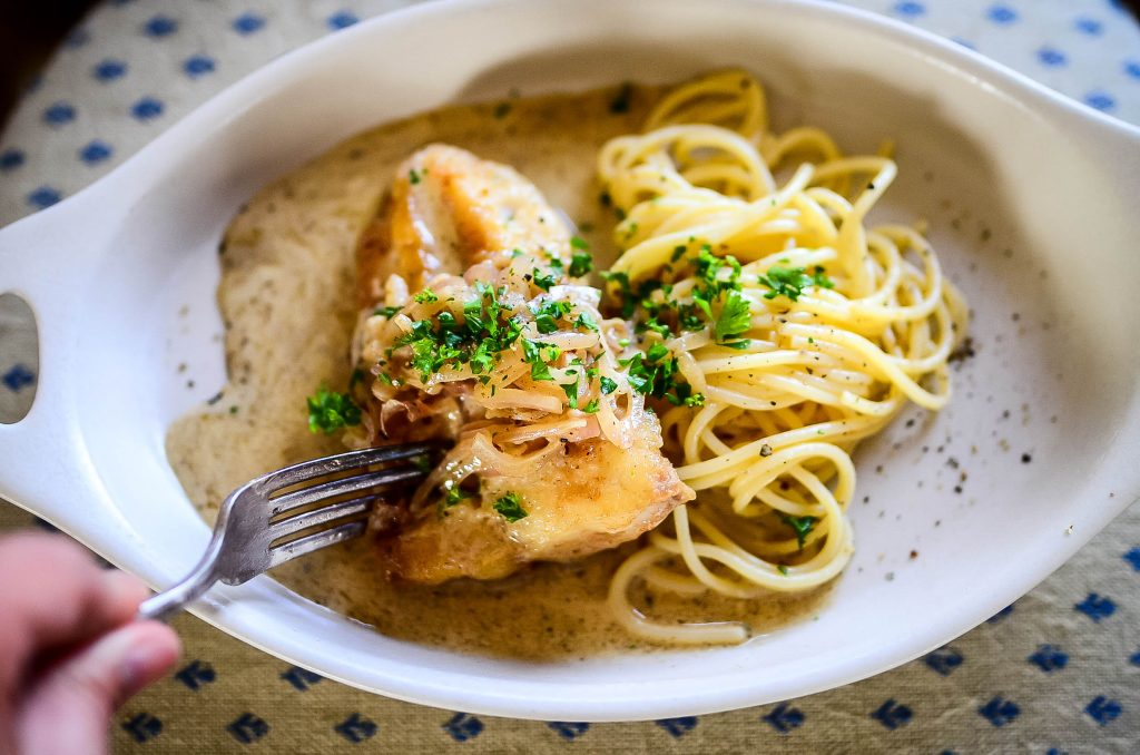 Cod With Shallots And Cream Sauce! | The Elliott Homestead