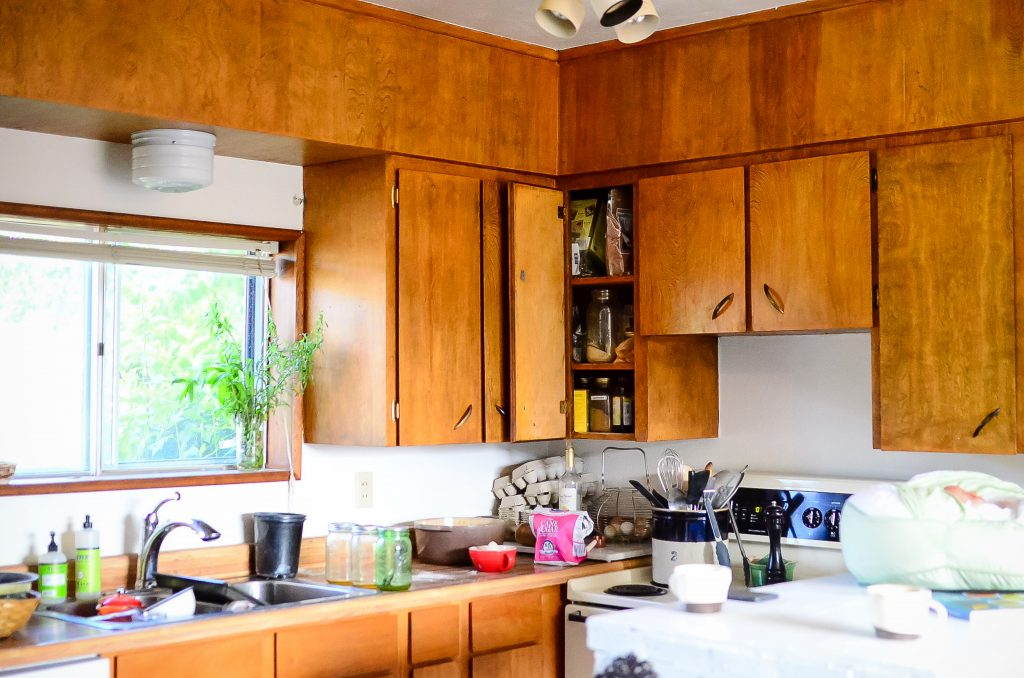 Ugly kitchen cabinets