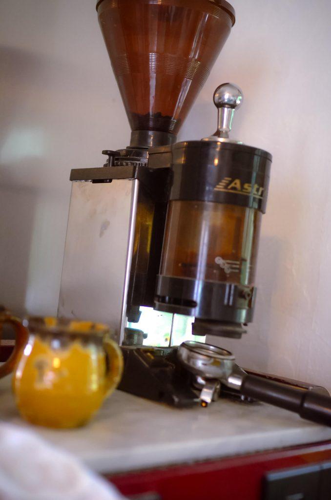 The espresso grinder
