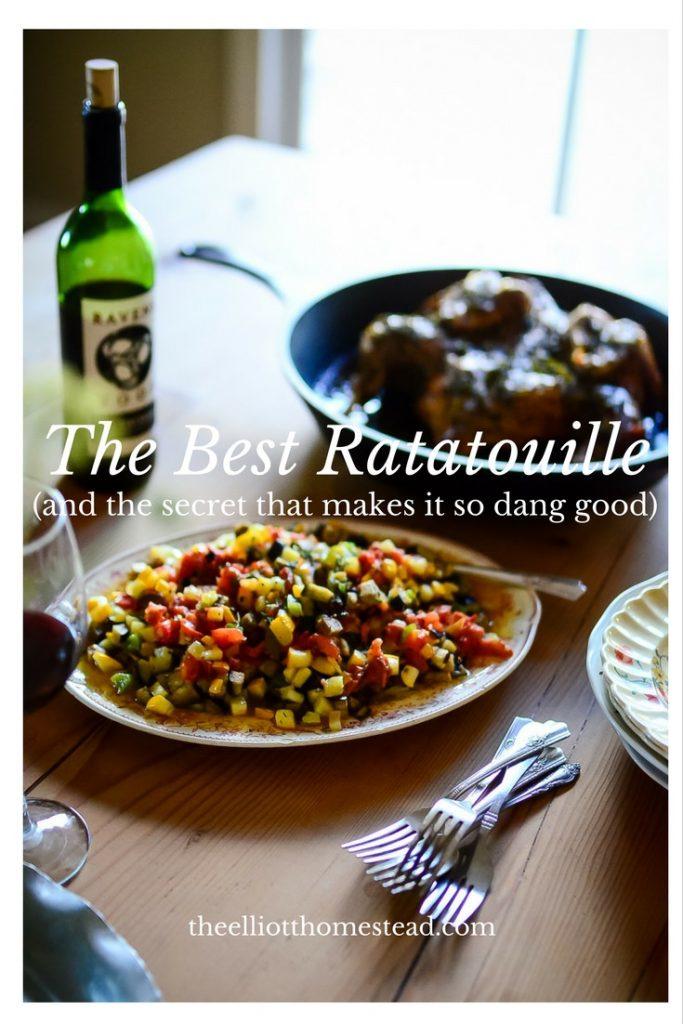 The Best Ratatouille (and the secret that makes it so dang good!)