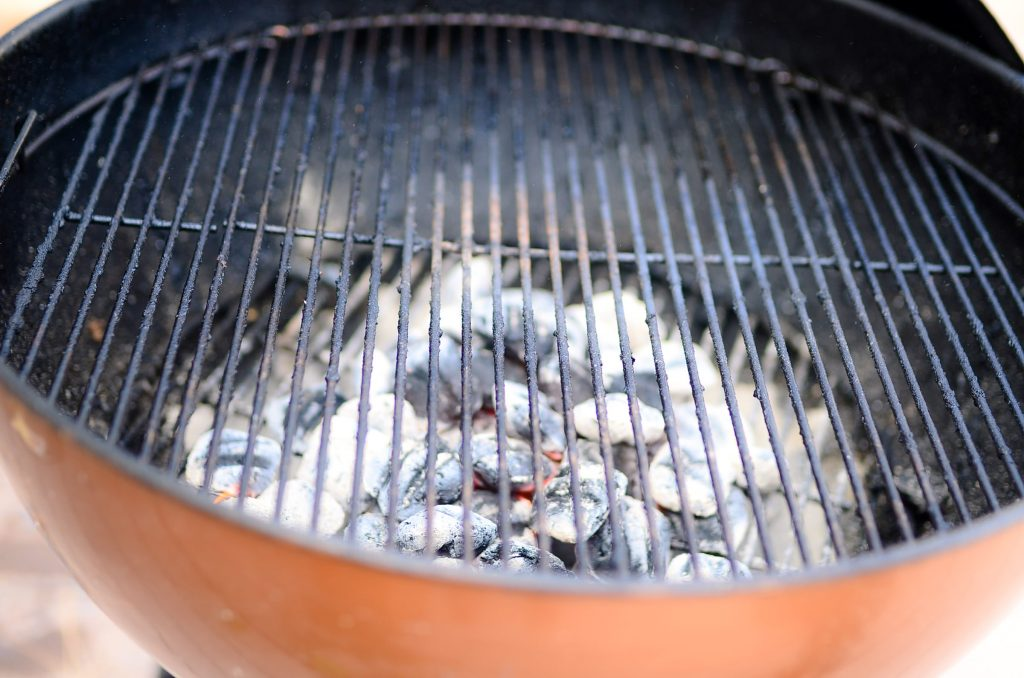 Charcoal cookin'