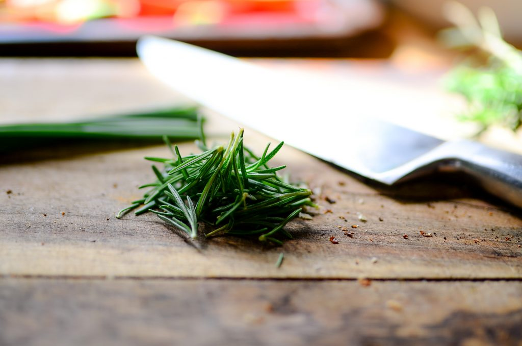 Rosemary for stuffed peppers