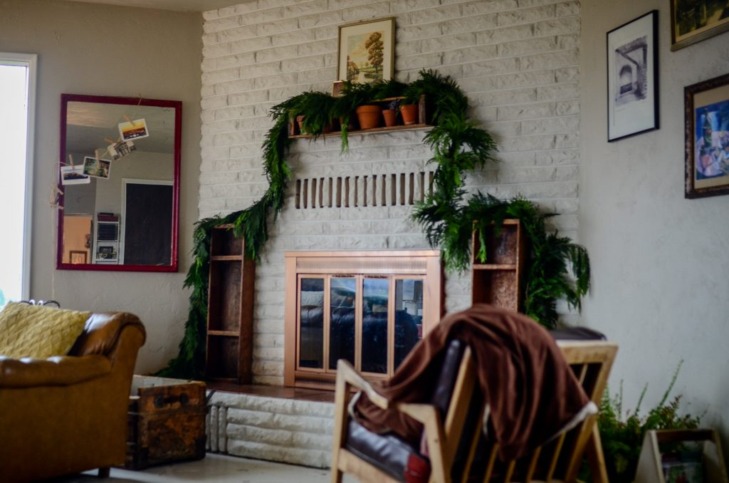 Christmas decor kept simple | The Elliott Homestead