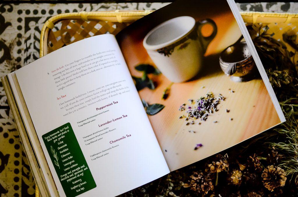 Sneak peak of homemade teas!