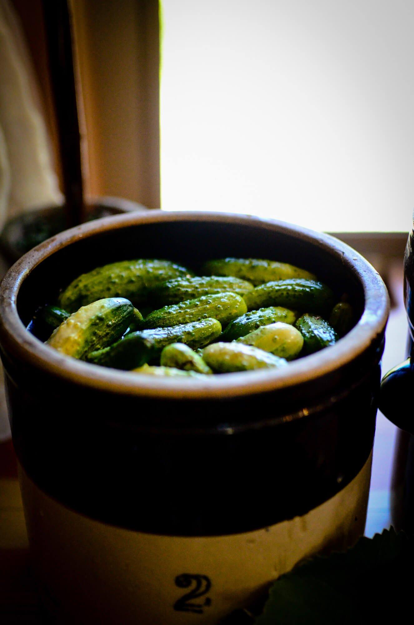 Barrel Fermented Pickles