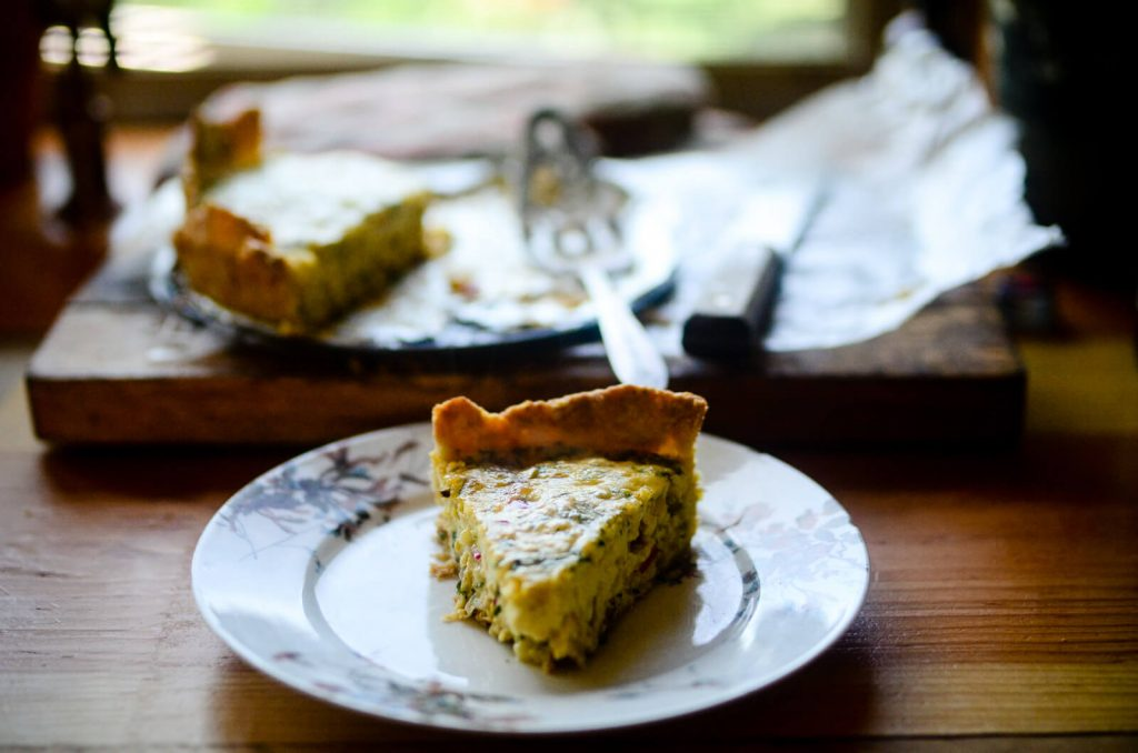 A slice of summer quiche | The Elliott Homestead (.com)