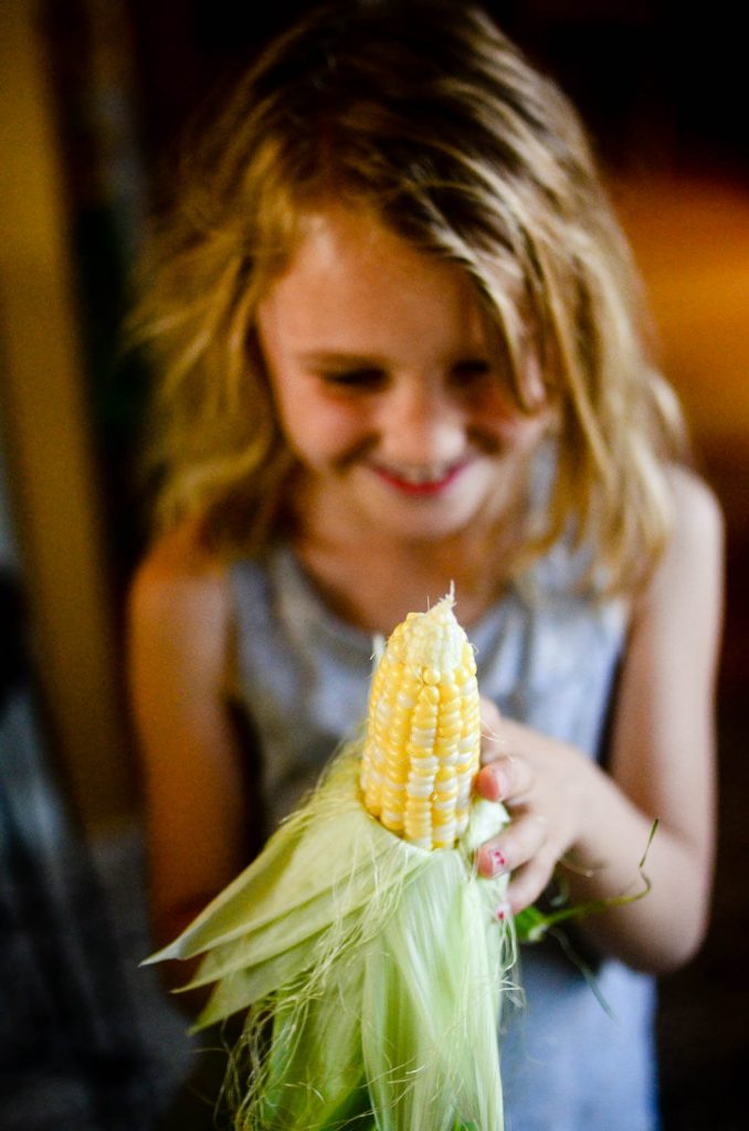Summer corn for summer quiche | The Elliott Homestead (.com)