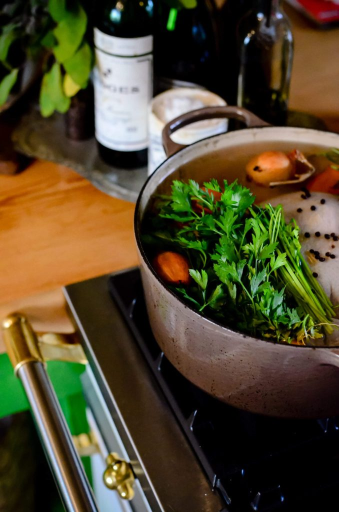 Homemade Chicken Stock for Chicken and Dumplings | The Elliott Homestead (.com)